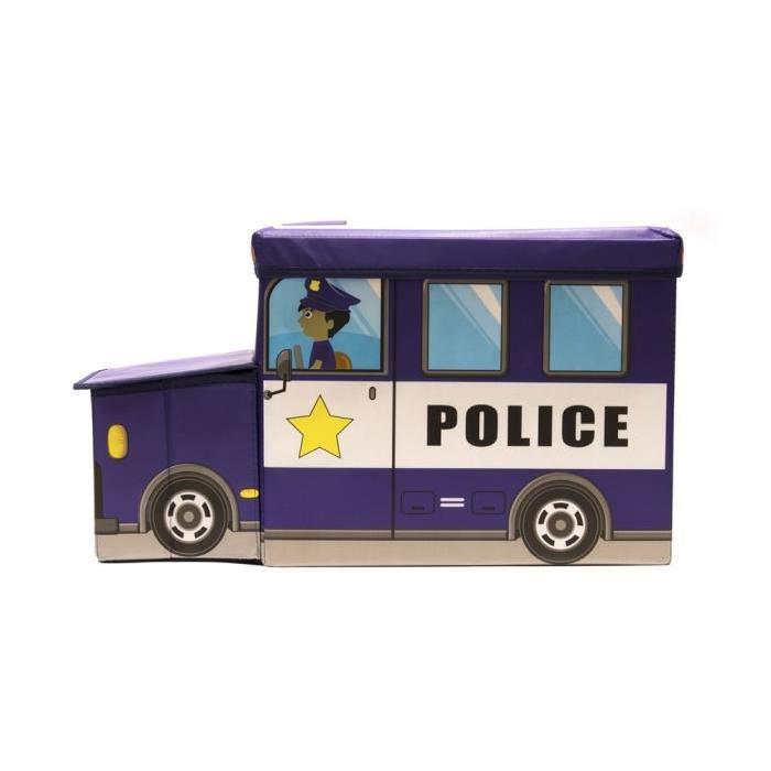 Coffre Boîte de Rangement Police