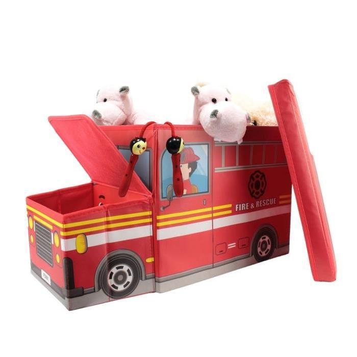Coffre Boîte de Rangement Pompier