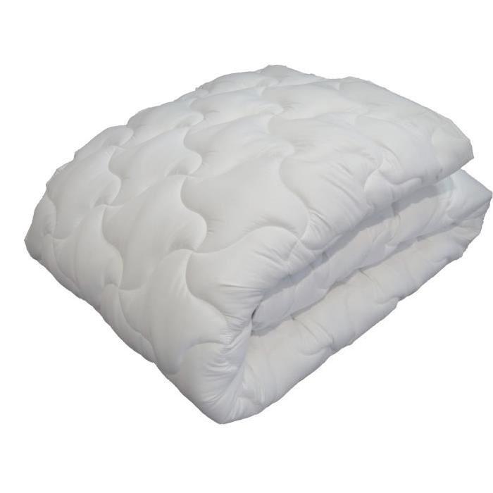 ABEIL Couette chaude Douceur Absolue 200x200 cm blanc