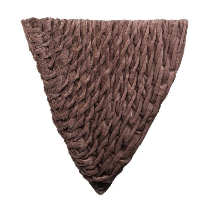 Plaid Saphir 130x150 cm taupe