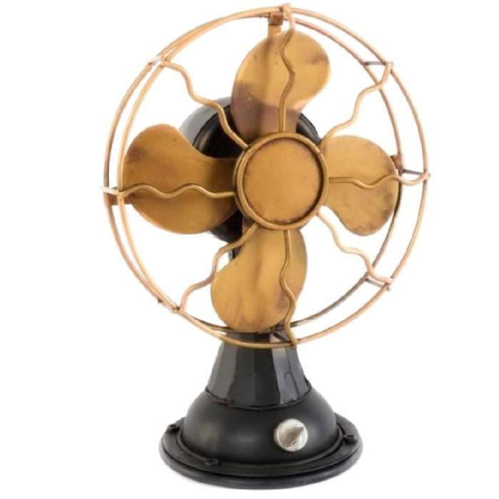 Ventilateur déco wind - métal 19,5x13x28 cm