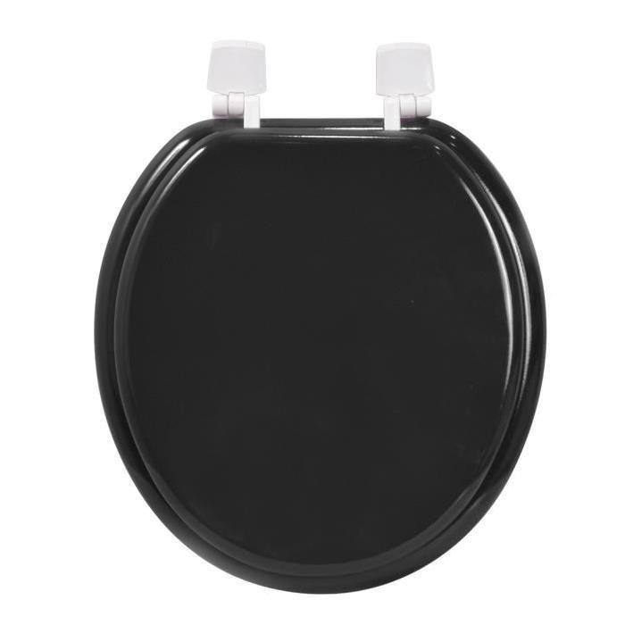 FRANDIS Abattant WC Eco en bois noir