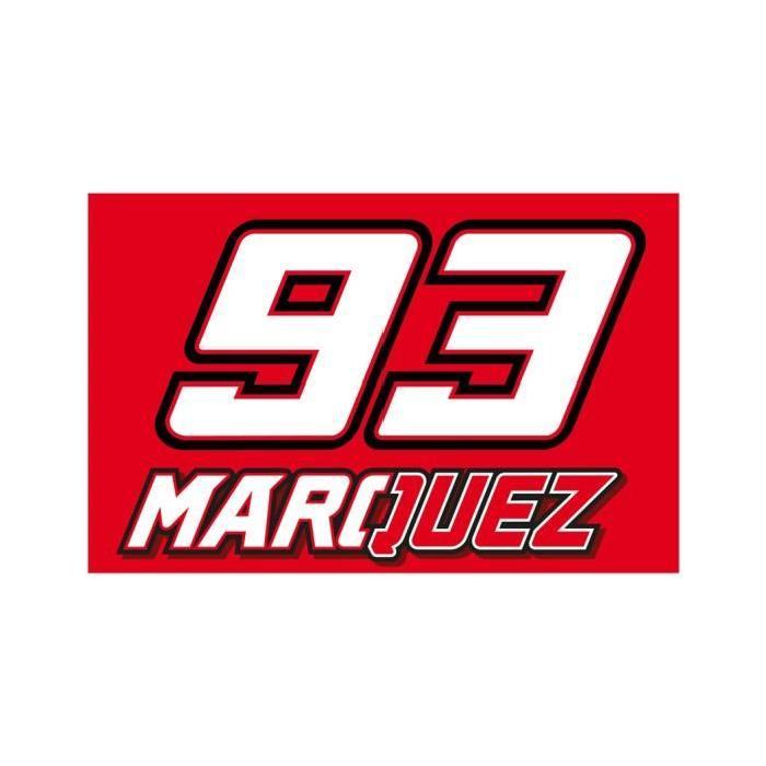 Drapeau Marquez MM93 - Rouge