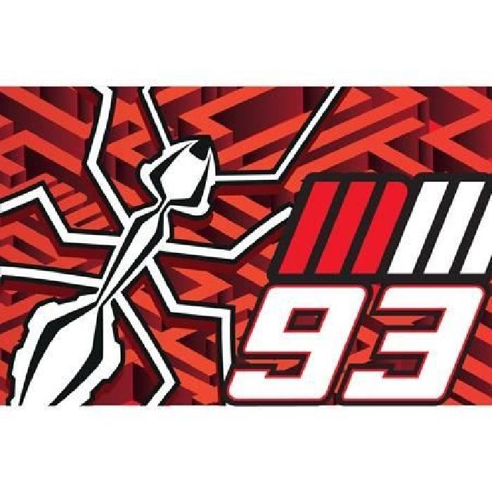 Drapeau MM93 Ant - Multicolore - Marc Marquez
