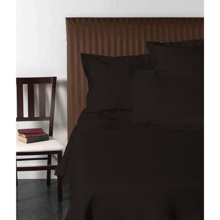 VISION Drap plat 240x300 cm noir
