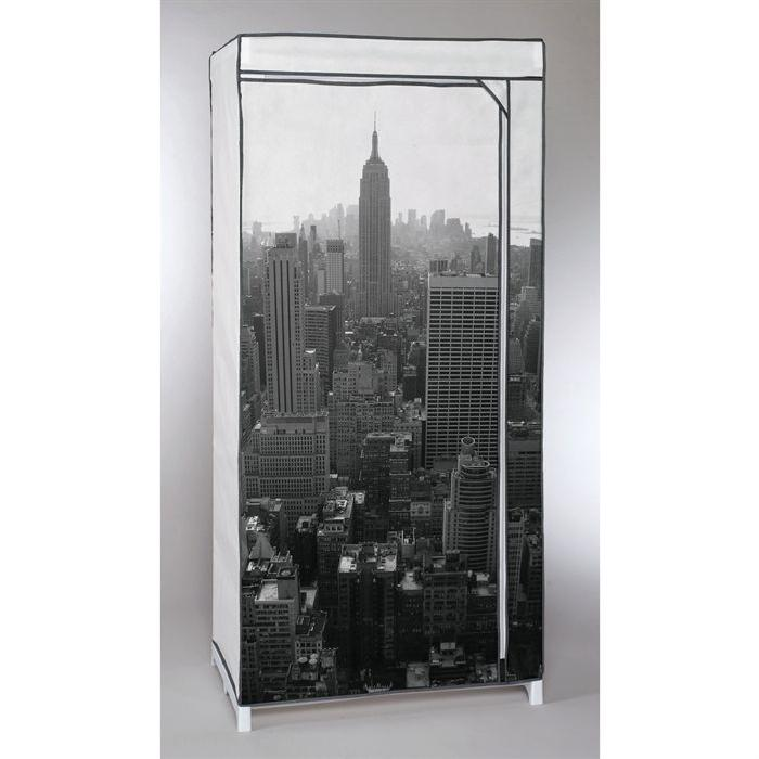 Penderie souple NEW YORK Empire State Building 160x65x75 cm