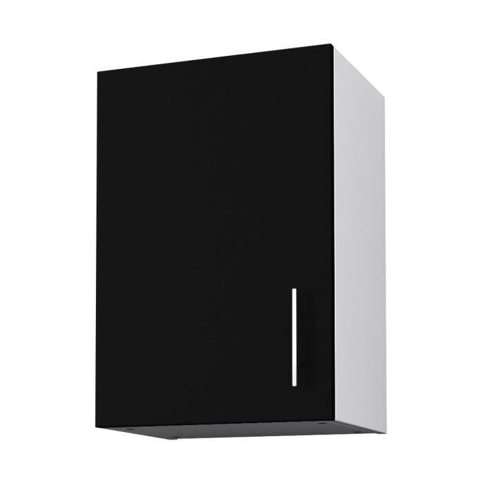 OBI Meuble haut de cuisine L 40 cm - Noir mat