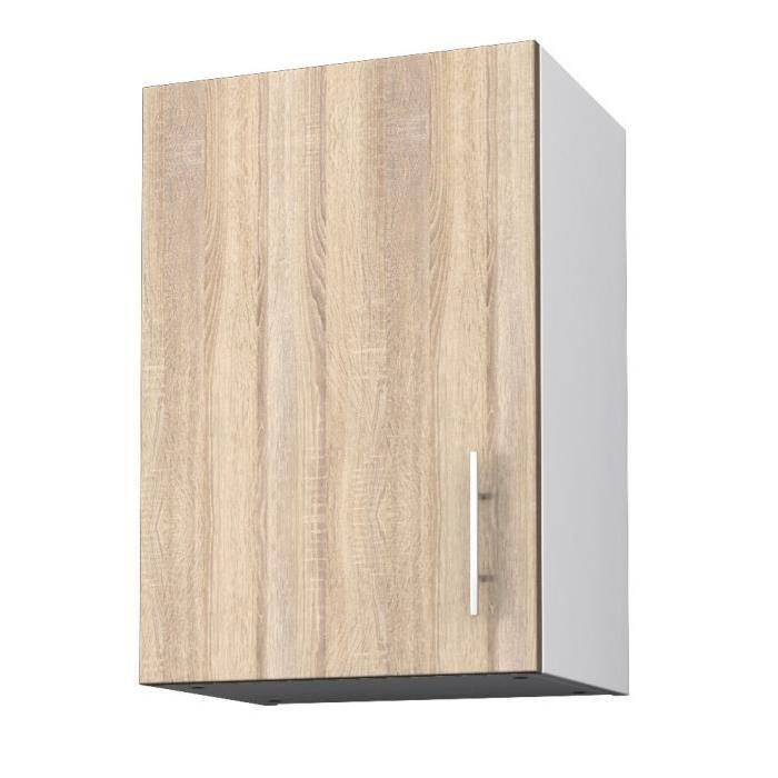 OBI Meuble haut de cuisine L 40 cm - Décor chene clair