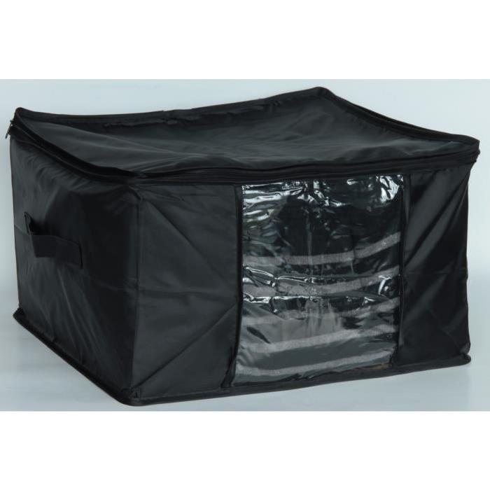 EVE Malle de rangement souple sous vide AIR OFF S noir 40x40x25 cm