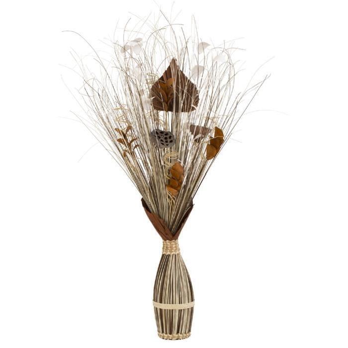 Décoration d'intérieure artificielle - Fagot - Brun marron - Hauteur 100 cm