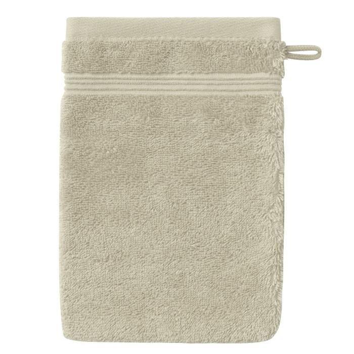 SANTENS Gant de Toilette  GRACE Grege 16 x 22 cm