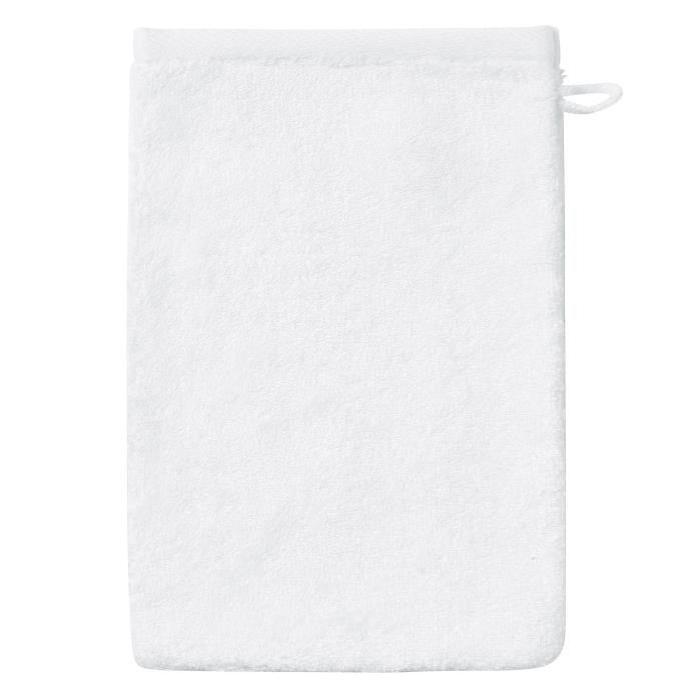 SANTENS Gant de Toilette  BAMBOO Blanc 16 x 22 cm