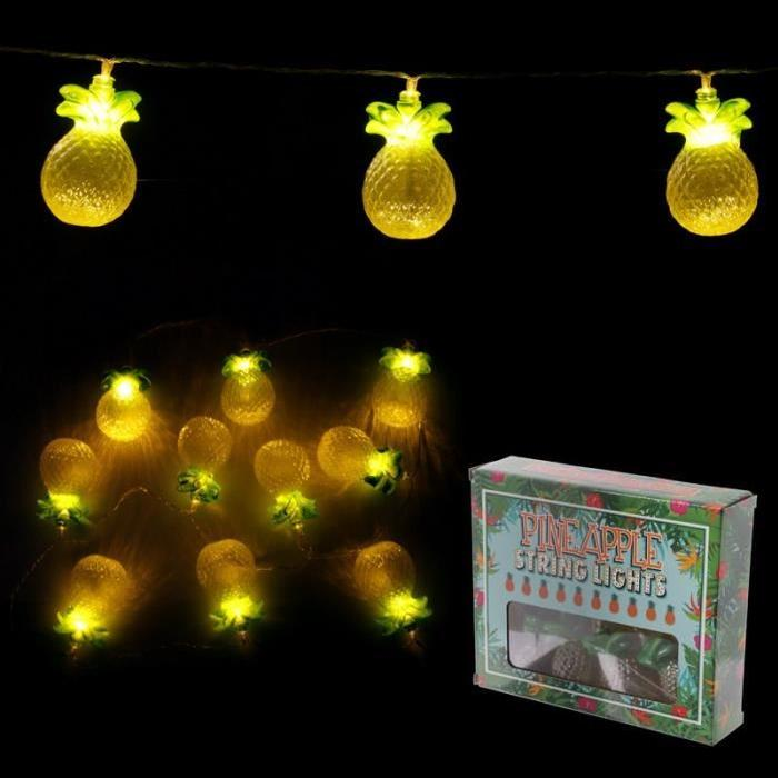 Guirlande LED de décoration - Ananas - 160cm
