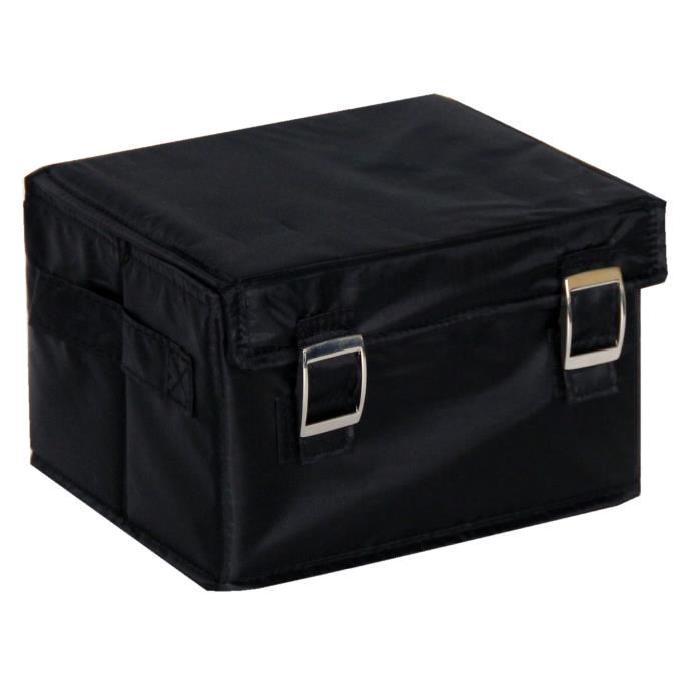 EVE Boîte de rangement small noir 22x18x14 cm