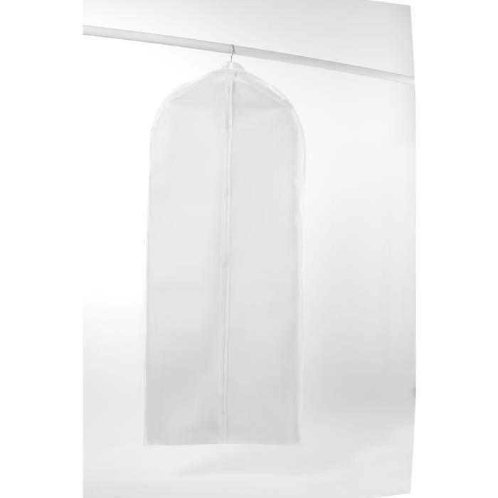 Housse courte MILKY my family en péva blanc 60x100 cm