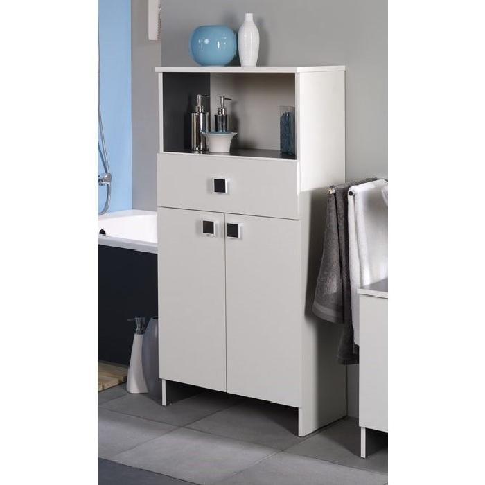 HORIZON Meuble de salle de bain L 59 cm - Blanc