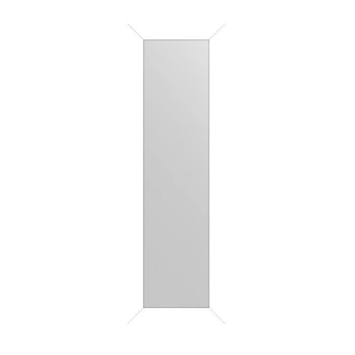 MIRRA Miroir rectangulaire 30x120 cm Blanc