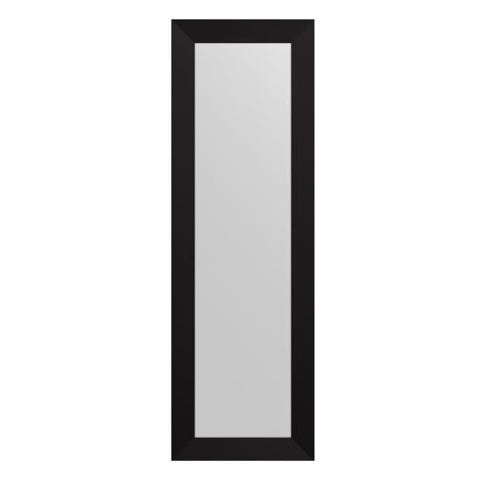 MIRRA Miroir rectangulaire 30x120 cm Noir
