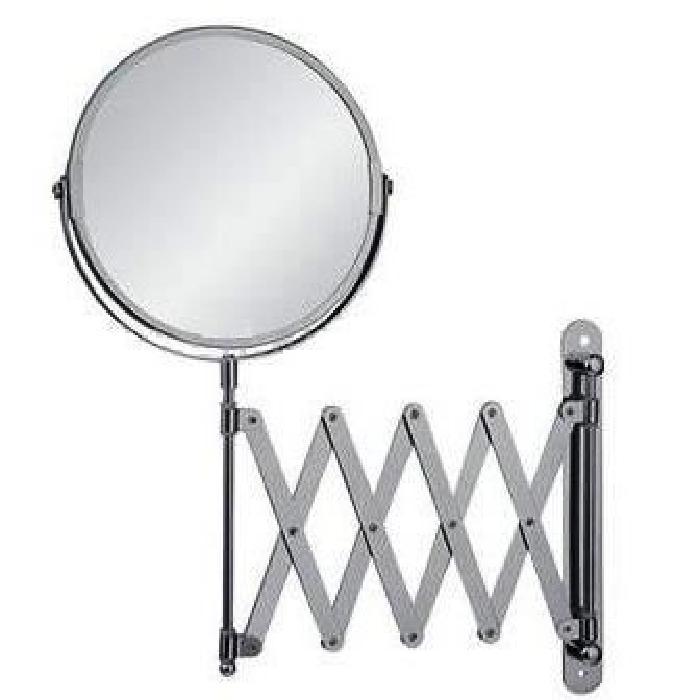 FRANDIS Miroir mural extensible en métal