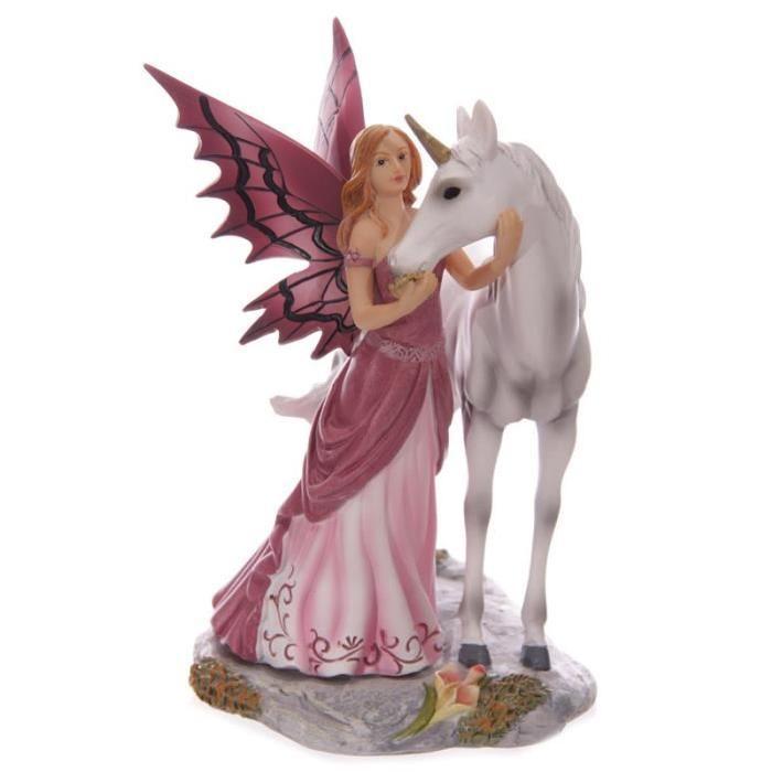 Objet de décoration - Fée Légende D'Avalon & Licorne