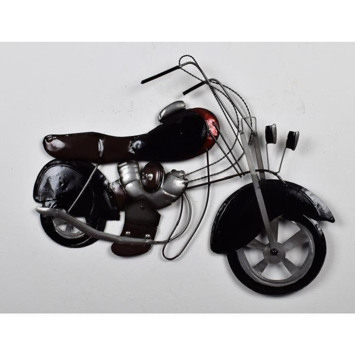 Décoration murale Harley Modele 1 - Métal - L 62 x H 43 cm