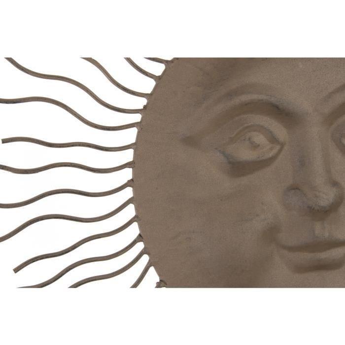 Décoration murale sunny - métal 68x3 cm