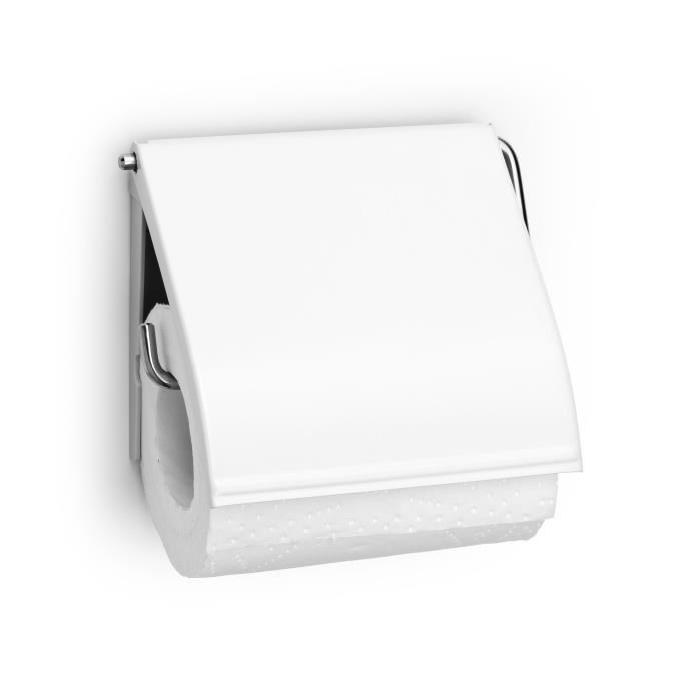 BRABANTIA Porte-Rouleau papier hygiénique Blanc