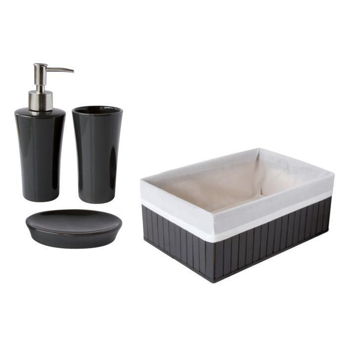 GELCO Lot 3 Accessoires + Boîte Trendy carbone