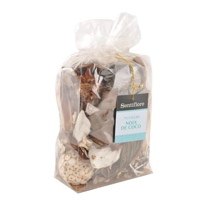Pot pourri 2,25 L Coco brun