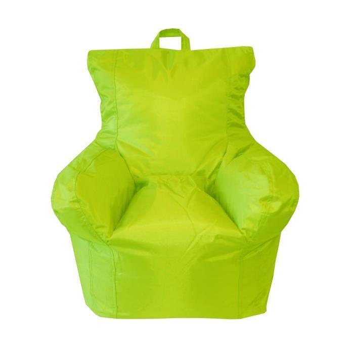 ALEX KIDS Pouf fauteuil enfant 50x55x50 cm vert anis