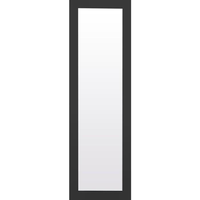 TEXA Miroir psyché 30x120 cm noir mat