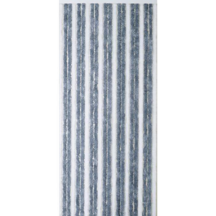 MOREL Moustiquaire blanc et gris - 90x220