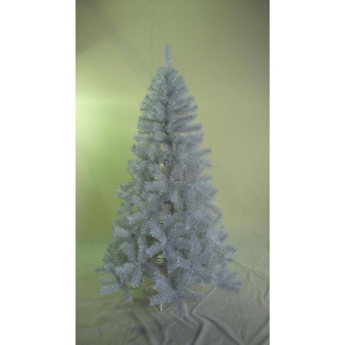 Sapin 180 cm - 518 pointes - Blanc Perle