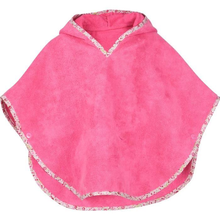 UP2GLIDE Poncho bain Carla - Rose