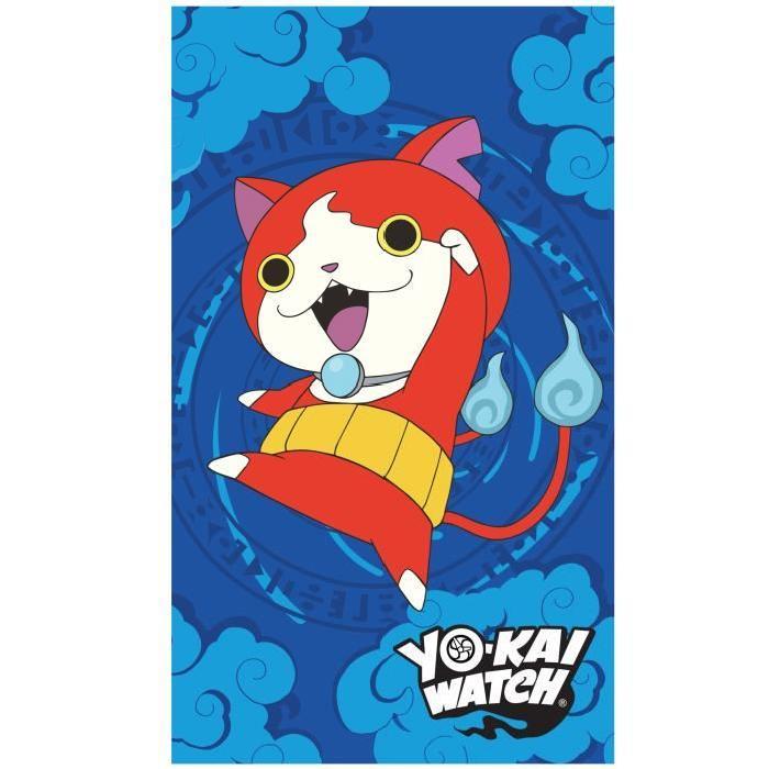 YO-KAI WATCH GANG Drap de plage Coton 70x120cm