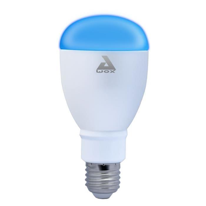 AWOX SmartLIGHT Ampoule LED E27 couleur connectée Bluetooth 60 W