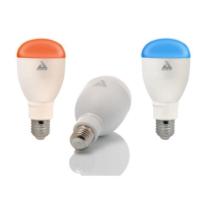 AWOX Lot de 3 Ampoules couleur E27 LED SmartLIGHT Color