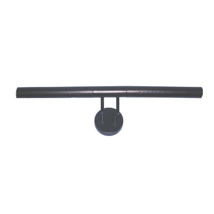 Applique pour tableau en métal marron oxydé - L 42,5 cm