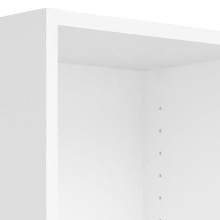 SWISSE Bibliotheque style contemporain blanc - L 107,2 cm