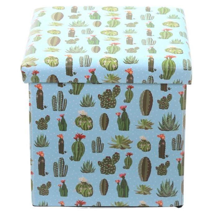 Coffre de Rangement pliable - Cactus