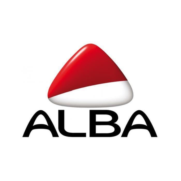 ALBA Organiseur de bureau multi-rangements gris
