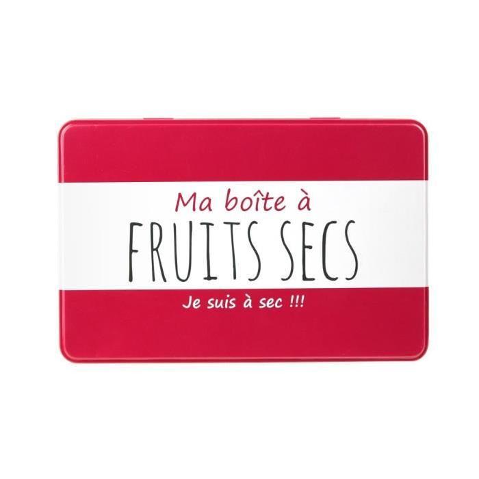 Ma boîte a Fruits Secs