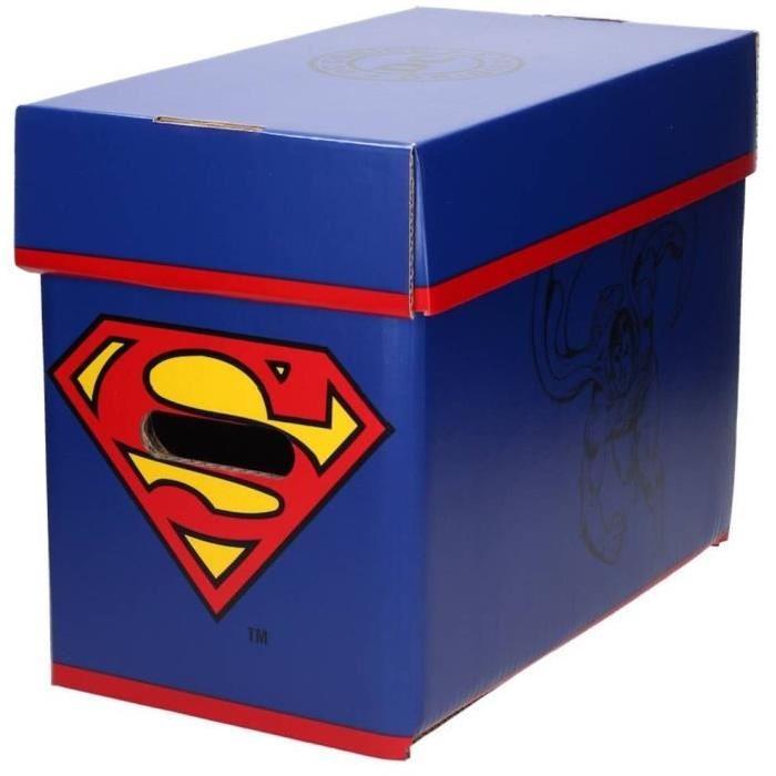 WTT DC UNIVERSE SUPERMAN - Ultra Pro - Boite Cartoon Comic - 35 x 19 x 30cm