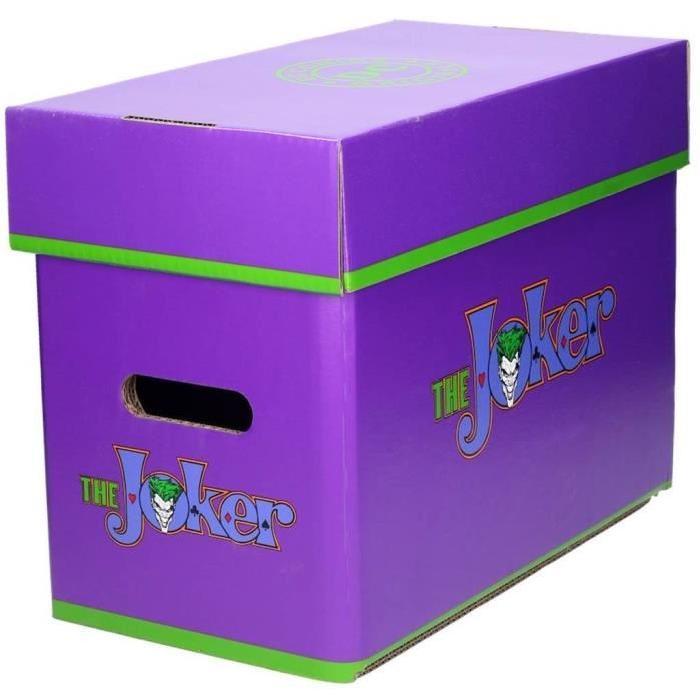 WTT BOX DC UNIVERSE - JOKER - Ultra Pro - Boite Cartoon Comic - 35 x 19 x 30cm
