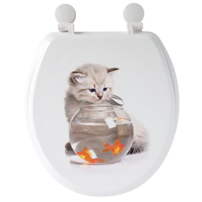 GELCO Abattant WC Mia Multi blanc
