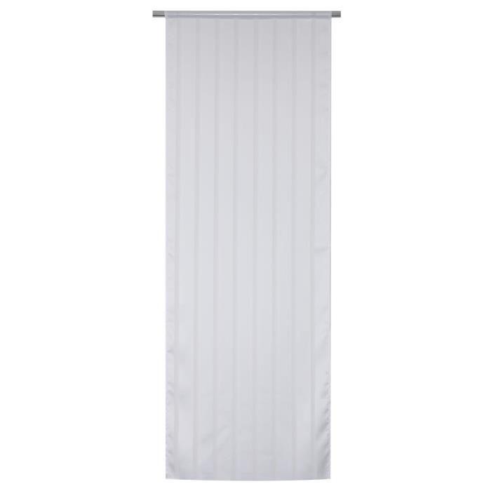 Vitrage Secrete - Passe-tringle - 70 x 190 cm - Blanc