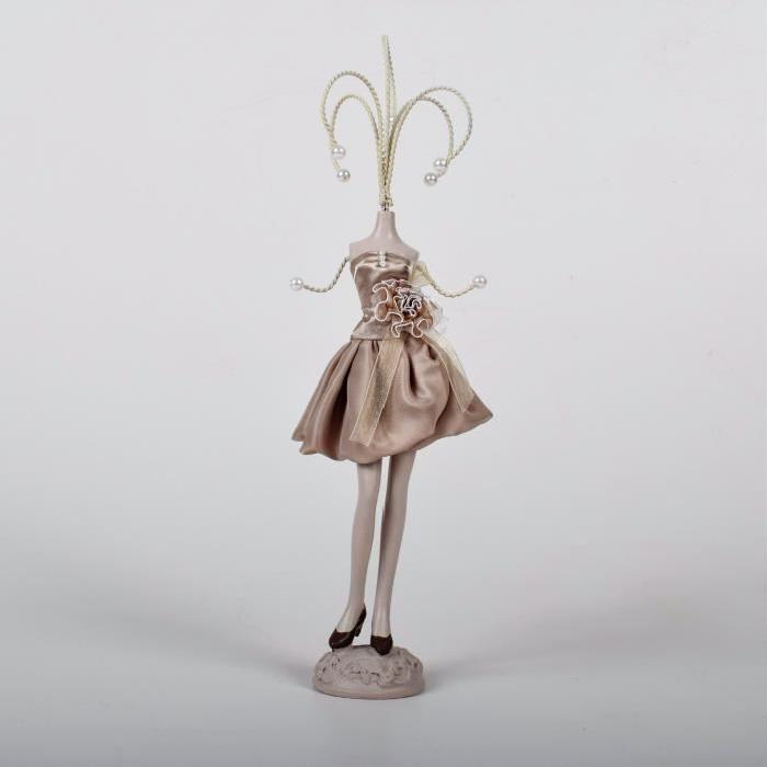 Porte bijoux Mannequin H.37cm Creme