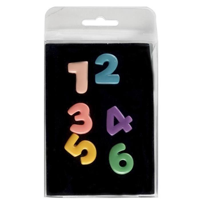 BRIO 6 magnets Chiffres