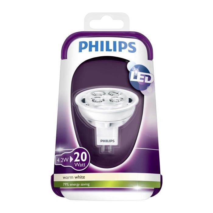 PHILIPS Capsule Ampoule LED 20W GU5,3 12V