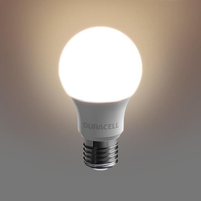 DURACELL Ampoule LED E27 5,6 W équivalent 40 W blanc chaud